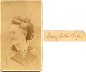 Mary Foster Chapin