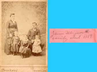 James Illingworth Family