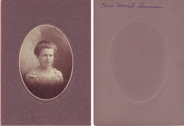 Cora Morrel Sherman