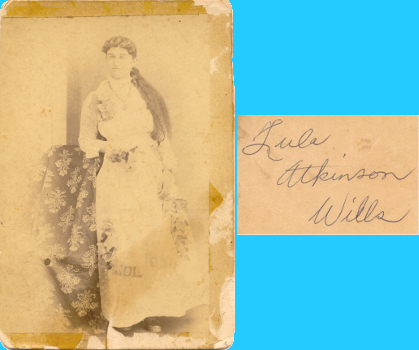 Lula (Atkinson) Wills